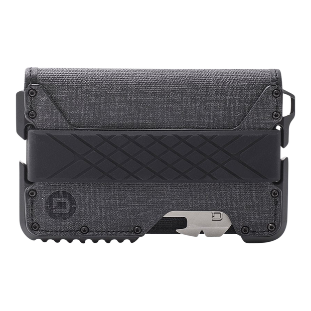Dango T01 Tactical Bifold Spec-Ops Special Edition Wallet (Blackout) - Front View
