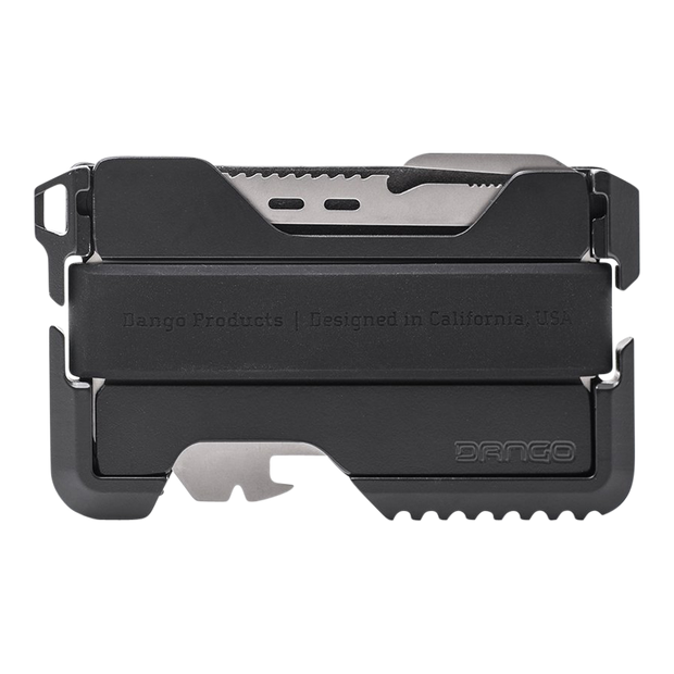 Dango T01 Tactical Spec-Ops Special Edition Wallet (Blackout) - Back View