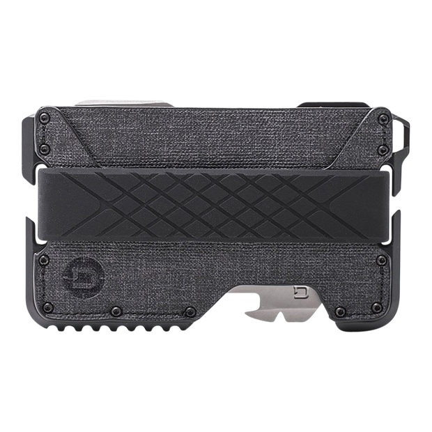 Dango T01 Tactical Spec-Ops Special Edition Wallet (Blackout) - Front View