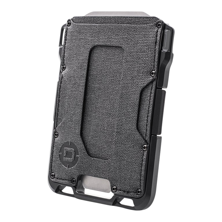 Dango M1 Maverick Single Pocket Spec-Ops Special Edition Wallet (Blackout) - Angled View
