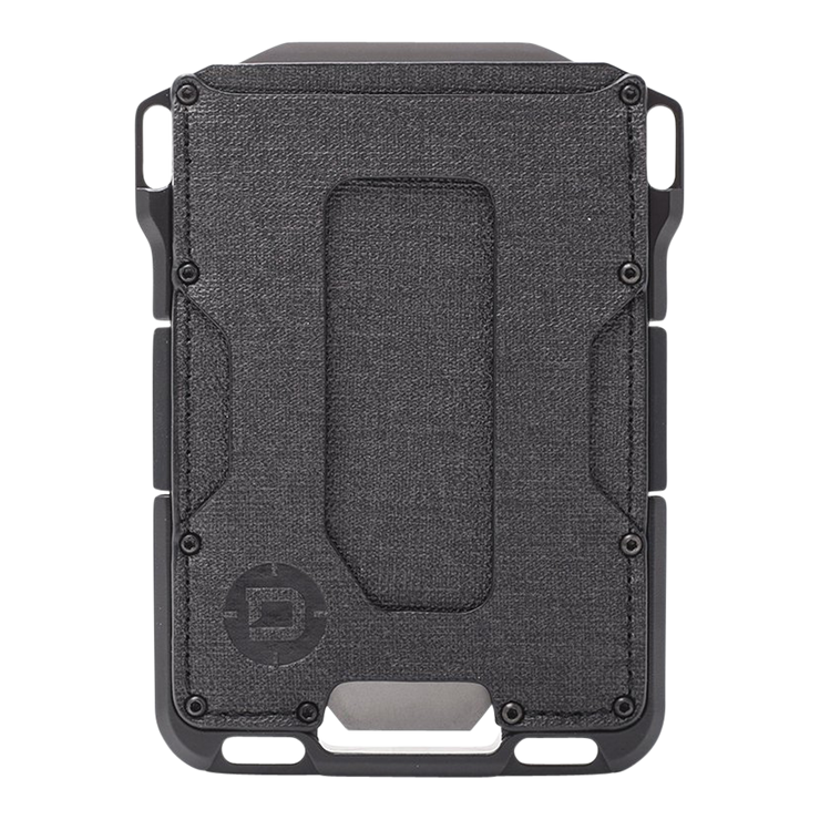 Dango M1 Maverick Single Pocket Spec-Ops Special Edition Wallet (Blackout) - Front View