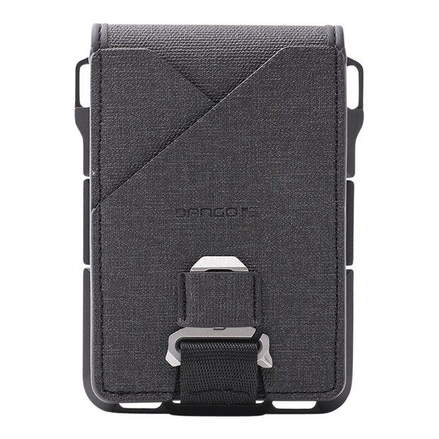 Dango M1 Maverick 4 Pocket Bifold Spec-Ops Special Edition Wallet (Blackout) - Back View
