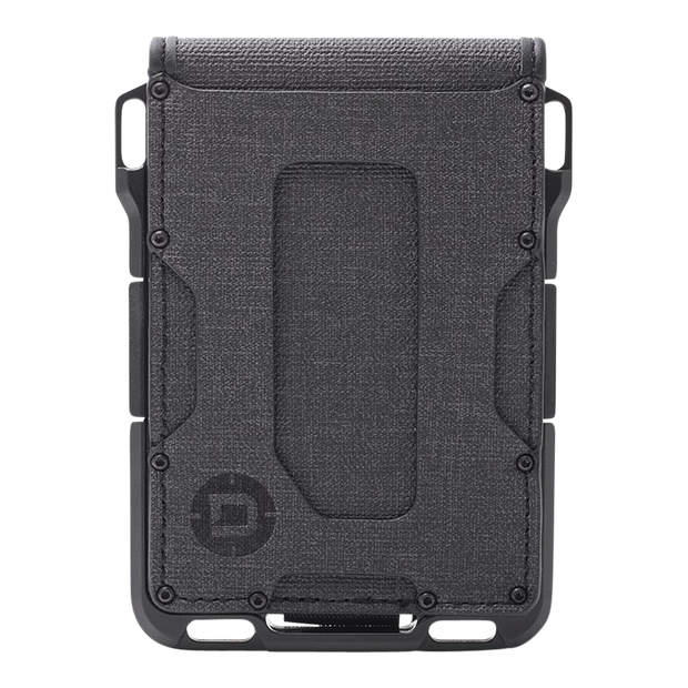 Dango M1 Maverick 4 Pocket Bifold Spec-Ops Special Edition Wallet (Blackout) - Front View