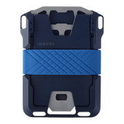 ango M1 Maverick Single Pocket Spec-Ops Special Edition Wallet (Blueline) - Back View