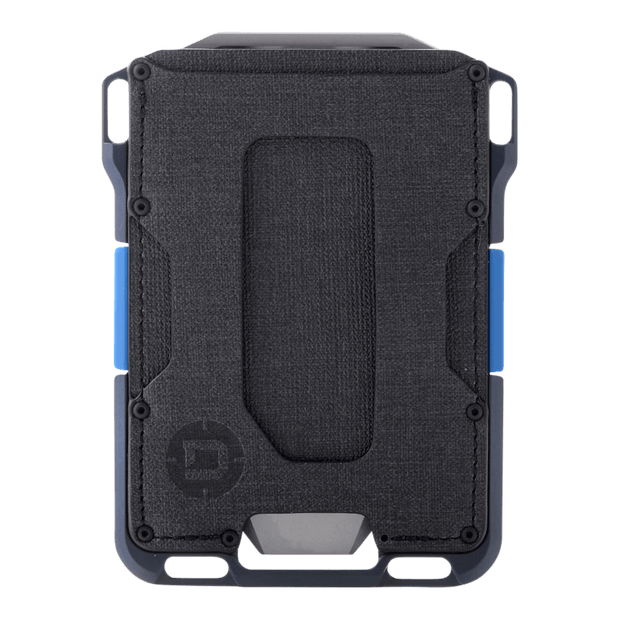 Dango M1 Maverick Single Pocket Spec-Ops Special Edition Wallet (Blueline) - Front View