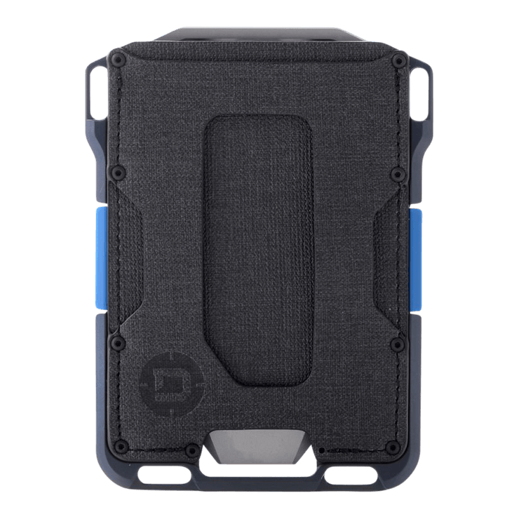 ango M1 Maverick Single Pocket Spec-Ops Special Edition Wallet (Blueline) - Front View