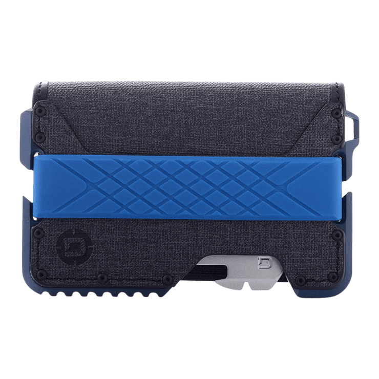 Dango T01 Tactical Bifold Spec-Ops Special Edition Wallet (Blueline) - Front View