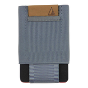 Nomatic Basics Slim Minimalist Wallet (Grey) - Front View