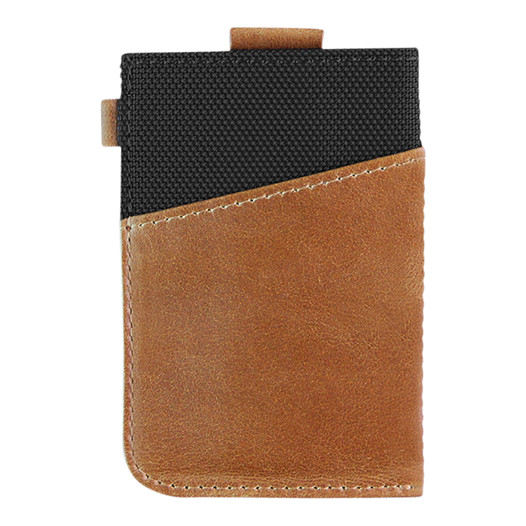 Loft of Cambie Wolyt Sleeve Classic (Black/Brown) - Back View