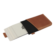 Loft of Cambie Wolyt Sleeve Classic (Black/Brown) - Cards Fanned