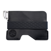 Dango C01 Civilian Wallet (Jet Black) - Front View