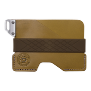 Dango C01 Civilian Wallet (Moss Green) - Front View