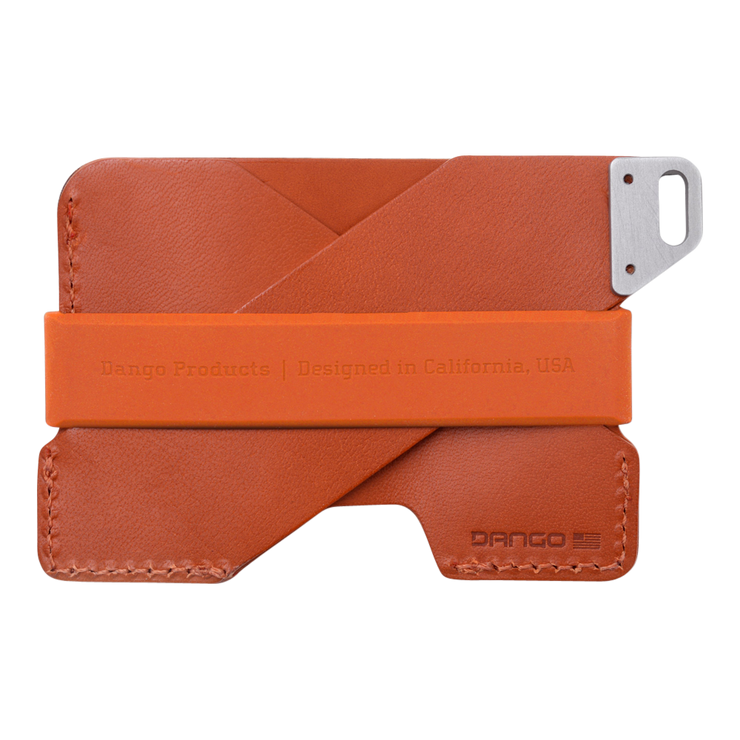 Dango C01 Civilian Wallet (Burnt Orange) - Back View