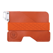 Dango C01 Civilian Wallet (Burnt Orange) - Front View