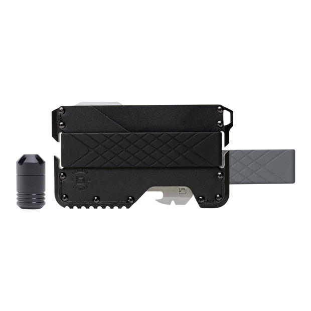 Dango T01c Tactical Wallet Bundle (Jet Black) - Complete View