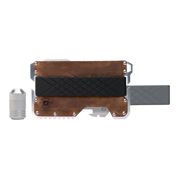 Dango T01c Tactical Wallet Bundle (Raw Hide) - Complete View