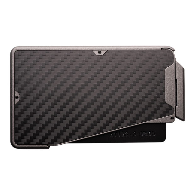 Fantom R 13 Carbon Fibre Wallet - Back View