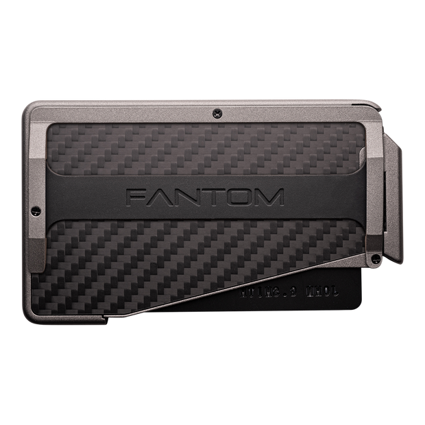 Fantom R 13 Carbon Fibre Wallet - Cash Strap