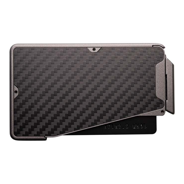 Fantom R 7 Carbon Fibre Wallet - Back View