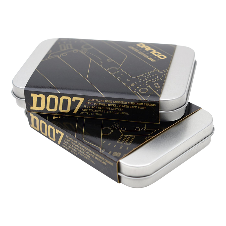 Dango D007 Limited Edition Wallet - Packaging