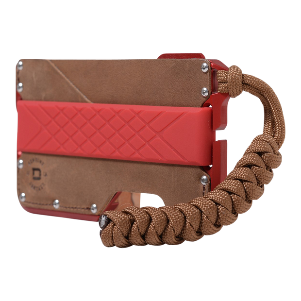 Dango D01 Dapper Special Edition Wallet (Redline) - Angled View
