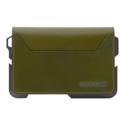 Dango D01 Dapper Bifold Wallet (Moss Green) - Back View