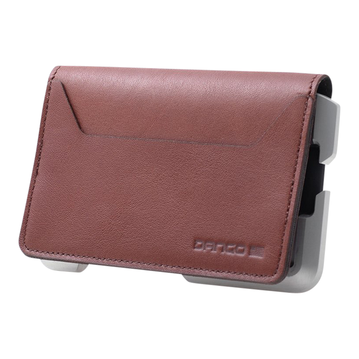 Dango D01 Dapper Bifold Wallet (Whiskey Brown) - Closed View