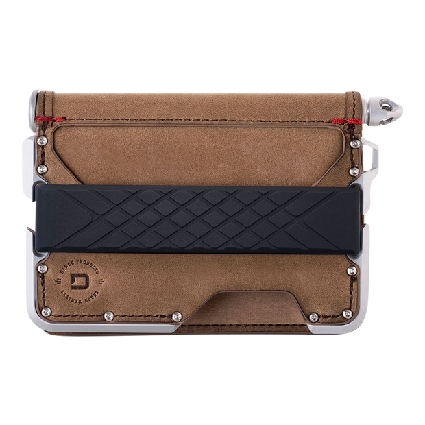 Dango D01 Dapper Pen Wallet (Raw Hide) - Front View