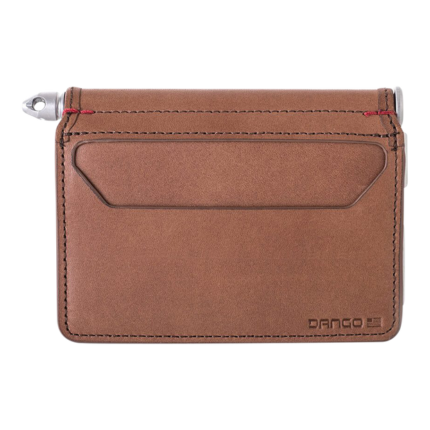 Dango D01 Dapper Pen Wallet (Whiskey Brown) - Back View