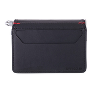 Dango D01 Dapper Pen Wallet (Jet Black) - Back View