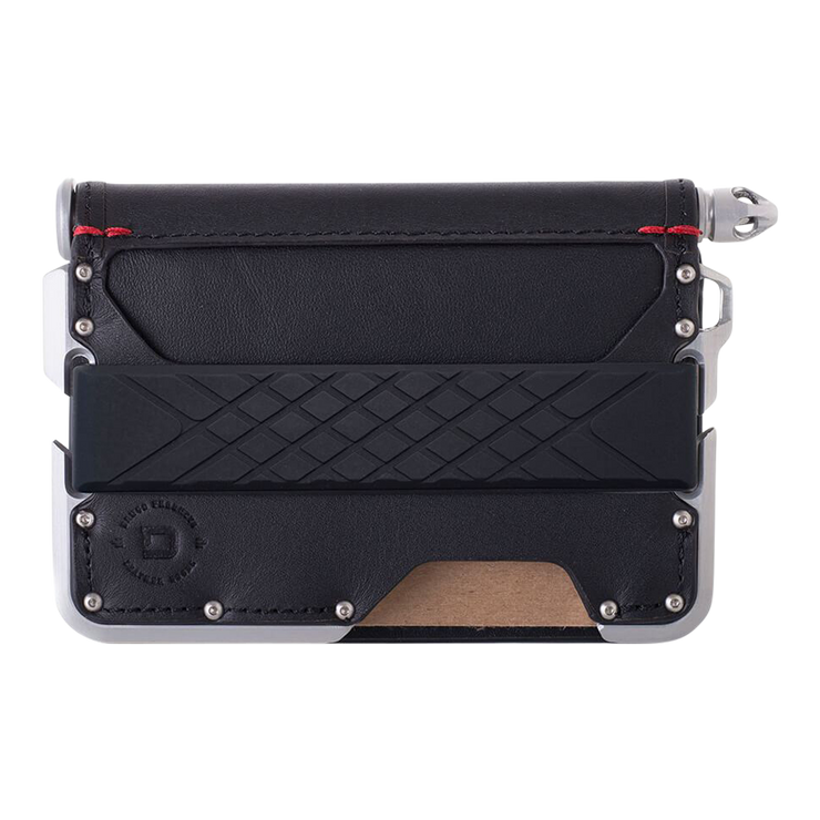 Dango D01 Dapper Pen Wallet (Jet Black) - Front View