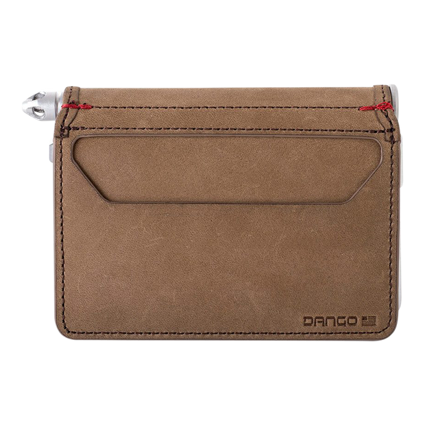 Dango D01 Dapper Pen Wallet (Raw Hide) - Back View