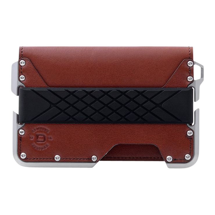 Dango D01 Dapper Bifold Wallet (Whiskey Brown) - Front View