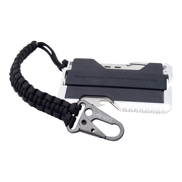 Dango Tether (Jet Black) - Wallet Back View