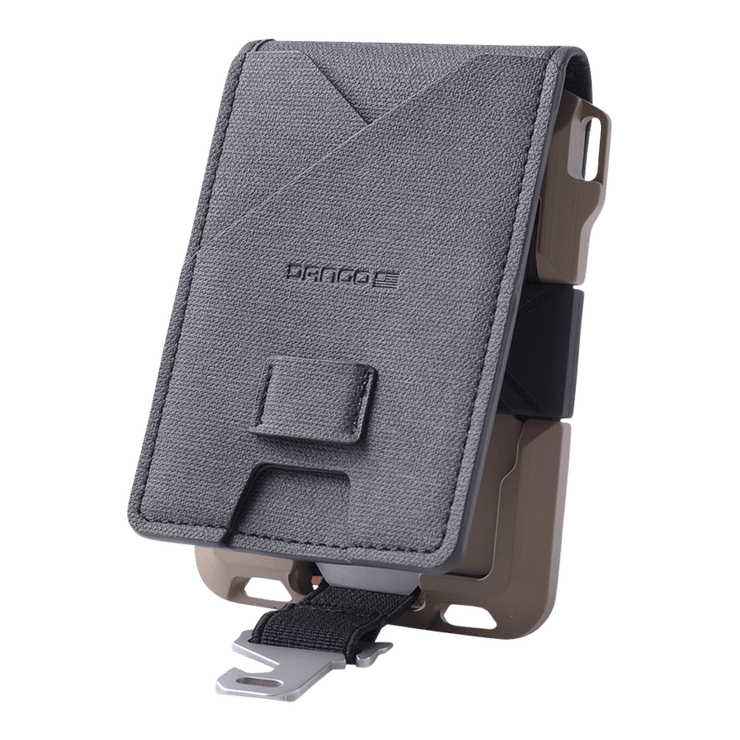 Dango M1 Maverick 4 Pocket Bifold Spec-Ops Wallet (Desert Sand) - MT01 Clasp Multi Tool Attached