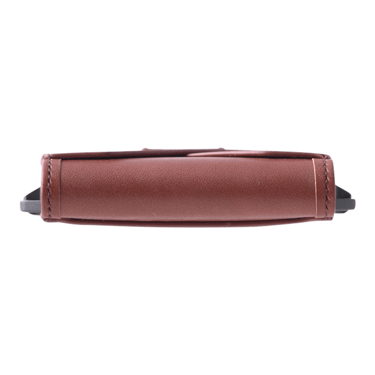 Dango M1 Maverick 4 Pocket Bifold Wallet (Whiskey Brown/Slate Grey) - Side View