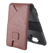 Dango M1 Maverick 4 Pocket Bifold Wallet (Whiskey Brown/Slate Grey) - Top Grain Leather
