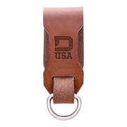 Dango Leather Belt Fob (Whiskey Brown) - Front View