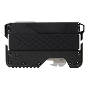 Dango T01 Tactical Wallet (Jet Black) - Front View