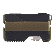 Dango T01 Tactical Special Edition Wallet (OD Green) - Front View