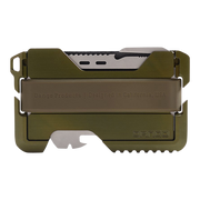 Dango T01 Tactical Special Edition Wallet (OD Green) - Back View