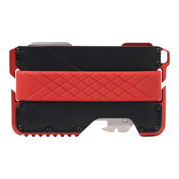 Dango T01 Tactical Special Edition Wallet (Redline) - Front View