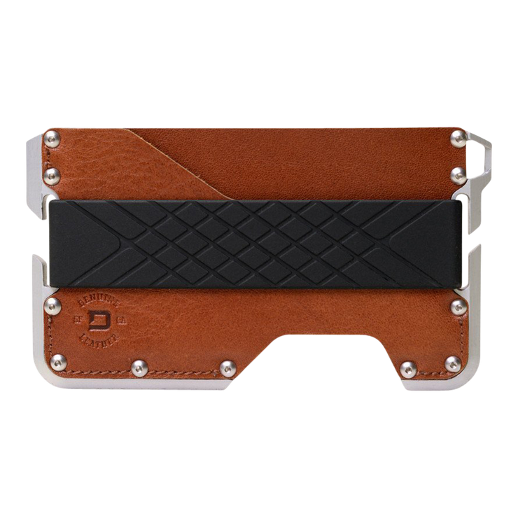 Dango D01 Dapper Wallet (Whiskey Brown) - Front View