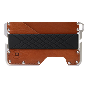 Dango D01c Dapper Wallet Bundle (Whiskey Brown) - Wallet Front View