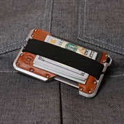 Dango D01t Dapper Wallet Bundle (Whiskey Brown) - Cash Strap