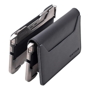 Dango T02 Titanium Tactical 3 Pocket Bifold Wallet Bundle - T02 Series Back View