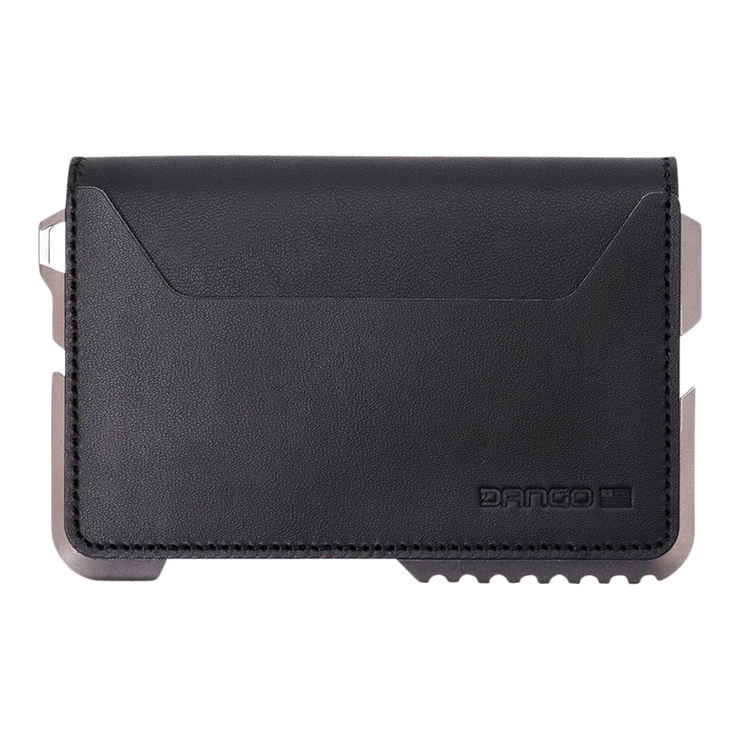 Dango T02 Titanium Tactical 3 Pocket Bifold Wallet Bundle - Wallet Back View