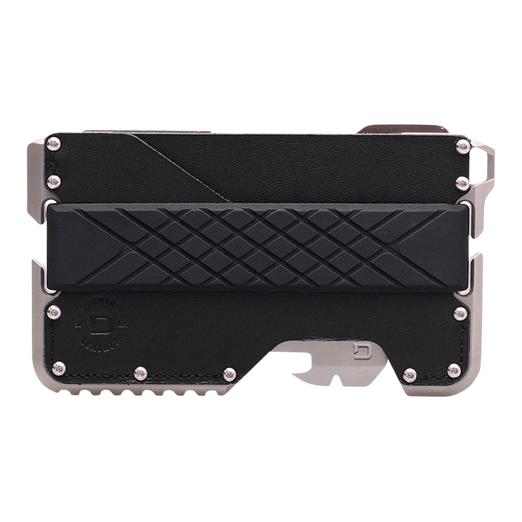 Dango T02 Titanium Tactical Single Pocket Wallet Bundle - Wallet Front View