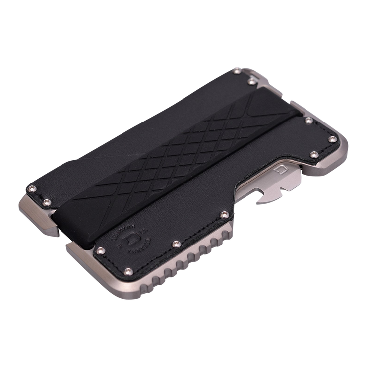Dango T02 Titanium Tactical Single Pocket Wallet - RFID Shield