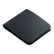 Pioneer Division 3PN Matte Billfold Wallet (Navy) - Angled View